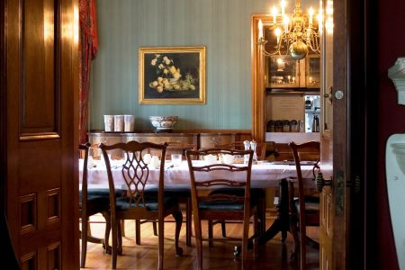 The ELMS B&B Dining Room
