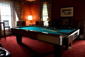Billiards Room at The ELMS B&B